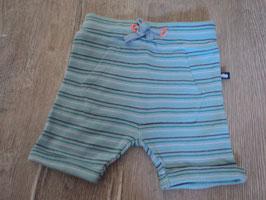 2271 Kurze Shorts blau gestreift mit Vordertaasche von STACCATO Gr. 62