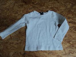 AL-31 LA Shirt uni weiß von H&M Gr. 86/92