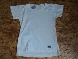 A-8 Shirt in weiß Uni von JAKO-O Gr. 104/110