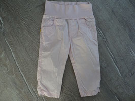 SS-159 ✿Hose in rosa mit Bauchbündchen -hinten auf Tasche Steiffbärchen von STEIFF✿ Gr. 80