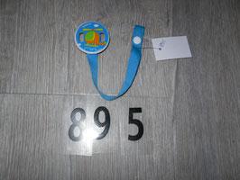 895 Schnullerkette Hubschrauber