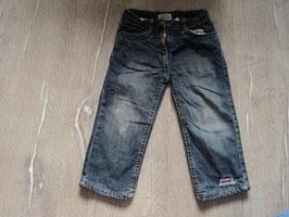 185 gefütterte Jeans dunkel Mädchen an den Knien etwas dünner von Topolino Gr. 92