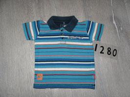 1280 Polo T-Shirt gestreift von NAME IT Gr. 74