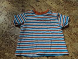 AL-140 Shirt blau/weiß/orange gestreigft von TOPOMONI Gr. 62