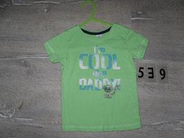 539 Shirt mint Cool Daddy Affe von DOPODOPO Gr. 74