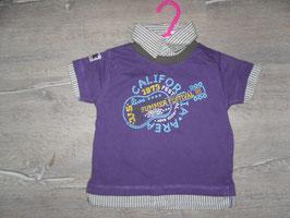 535 Shirt Hemd lila Gr. 74