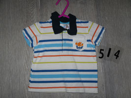 514 Plo T-Shirt gestreift Schiff Gr. 68