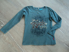 SS-125 ✿LA Shirt petrol *Love Rock Tunes mit Kasetten von NAME IT ✿ Gr. 116