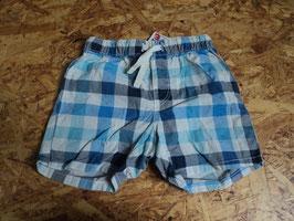 AL-11 Shorts blau/weiß karriert von H&M Gr. 80