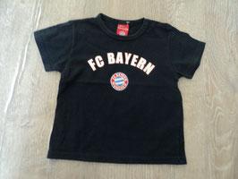 2518 Shirt dunkelblau FC BAYERN MÜNCHEN von SANETTA Gr. 74