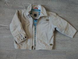 2912 Mega Coole Jacke in beige (enger stellen per Druckknöpfe) von GAP Gr. 104