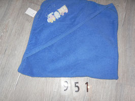 951 Handtuch blau mit Lokomotive