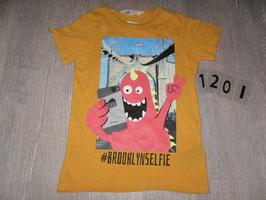 1201 Shirt Brooklyselfie von H&M Gr. 110/116