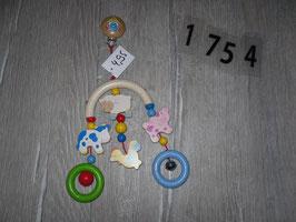 1754 Spielkette für den Kinderwagen Tiere von HABA