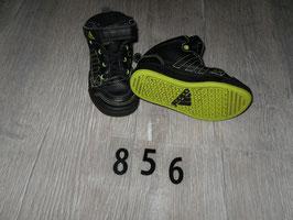 856 ADIDAS Knöchelhoch schwarz neongelb Gr. 23