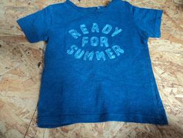 AL-198 Shirt in blau 'Ready for the Summer'  von STACCATO GR. 86