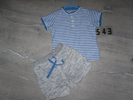 543 2 tlg. Set Hose Shirt von  OBAIBI Gr. 74