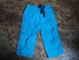AL-18 Leichte Shorts zum hochknöpfen in türkis von TOPOMINI Gr. 80