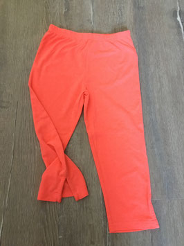 1845 Knallige Leggings neon orange von TOPOLINO Gr. 128