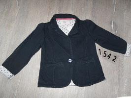 1542 Blazer schwarz von YOUNG DIMENSION Gr. 116