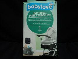AL-100 Universal Insektenschutz für alle gängingen Kinderwagen/Buggys und Reisebetten in anthrazit von DM Original verpackt