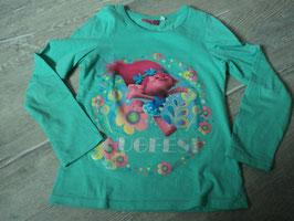 3199 LA Shirt mint grün mit Troll vn DREAMWORKS TROLLS       Gr. 134