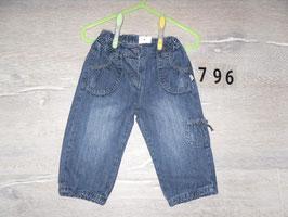 796 Tolle Jeans mit schleife von KANZ Gr. 74