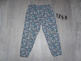 1250 Sommerhose Pfauenfedern Gr. 98