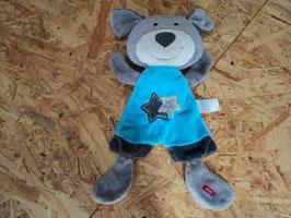 8 Kuschelhund grau blau von ESPRIT