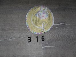 316 Sommer Hut mit Punkte Gr. 50
