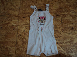SR-220 Sommer Jumpsuit in rosa mit Minie Mouse Gr. 68