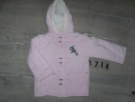 1714 Wintermantel Hexe rosa Gr. 86
