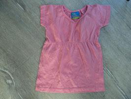 SS-11 Kleid rosa-Hüfte ist ein Gummizug -V-Auschnitte von TOPOLINO Gr. 104