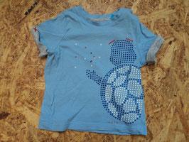 A-57 Shirt hellblau mit Schildkröte von ESPRIT Gr. 62