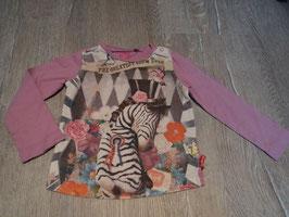 2768 LA Shirt rosa mit Zebra von CAKE WALK Gr. 92