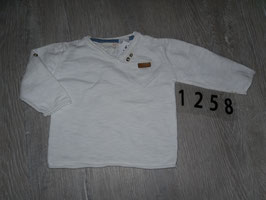 1258 LA Shirt weiß von ZARA Gr. 74