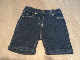 2828 Kurze Shorts in Jeansoptik hinten an Po Taschen Herze von TOPOMINI Gr. 92
