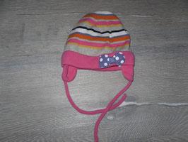330 Wintermütze mit Schleife Gr. 86/92
