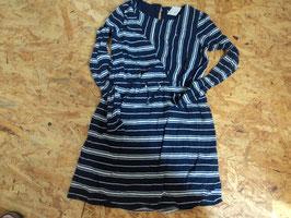 SS-2 Mega schönes LA Kleid in blau/weiß von TOMMY HILFIGER Gr. 128
