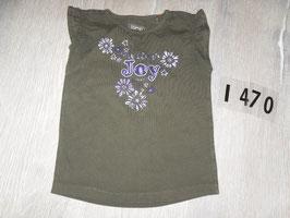 1470 Ärmelloses Shirt dunkel braun lila von ESPRIT Gr. 92/98