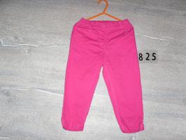 825 Leichte Hose pink Gr. 92