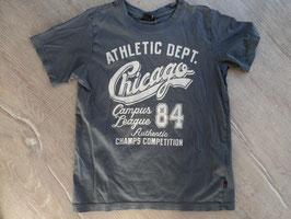 SS-67  Shirt grau Chicago von HIS Gr. 128/134
