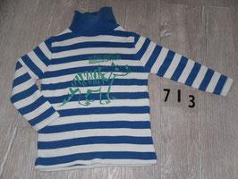 713 LA Rolli gestreift weiß blau Dini Gr. 98