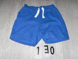 130 Shorts blau Gr. 80