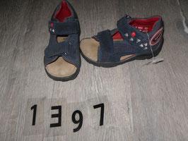 1397 Sandalen Dino dunkelblkau mit Rot von ELEFANTEN Gr. 23