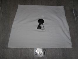 987 Bauchband Baby Schlüsselloch Gr. M