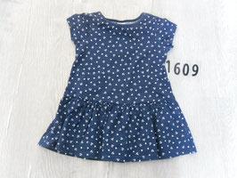 1609 Tolles Sommerkleid dunkelblau mit Anker Gr.  74/80