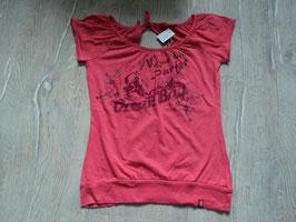 1784 Tolles Sommershirt in pink hinten tiefer Ausgeschnitten von ESPRIT  Gr. XS