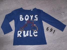 691 LA Shirt Boys Rules von ZARA  Gr. 86