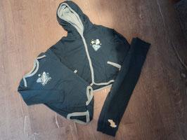 2231 3 tlg. Set Jacke mit Kapuze, LA Body und Hose mit hohem Bund von SUPERBABY  Gr. 86/92